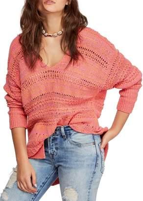 Free People Hot Tropics V-Neck Sweater
