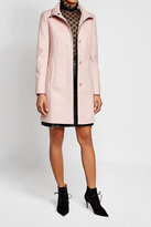 HUGO Virgin Wool Coat with Cashmere
