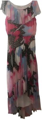 Philosophy di Alberta Ferretti Pink Silk Dresses