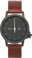 Miansai M24 Noir On All Leather Watch