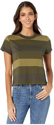AG Jeans Del Rey Tee (Notting Vine) Women's Clothing