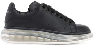 Alexander McQueen 45MM AIR SOLE PLATFORM LEATHER SNEAKERS