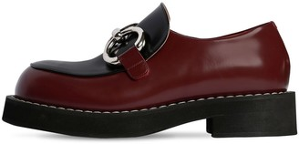 Marni 40mm Bicolor Leather Loafers