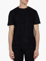Our Legacy Black Textured T-shirt