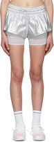 adidas by Stella McCartney Silver 2 In 1 Running Shorts