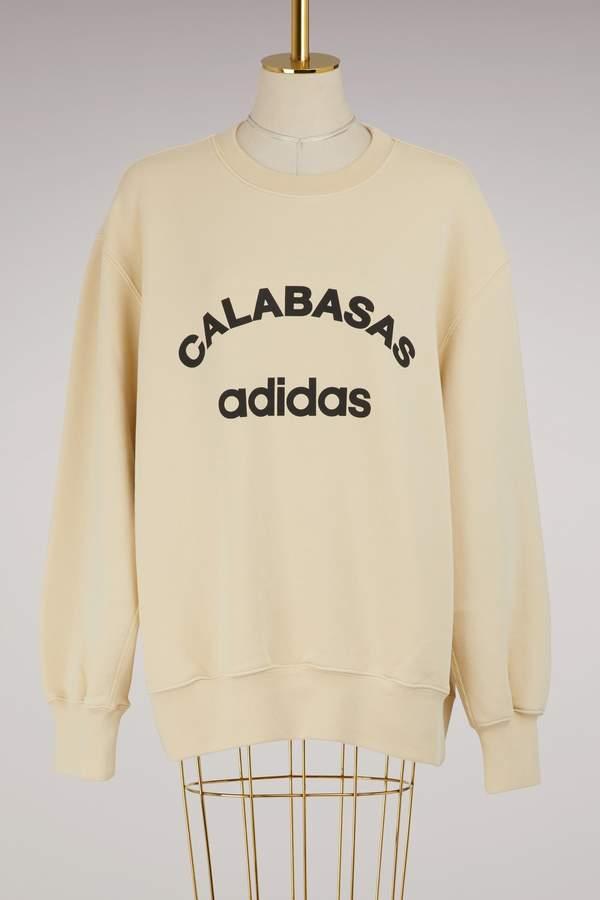 Yeezy Crew rib side sweatshirt