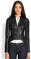 BCBGMAXAZRIA Faux Leather Jacket