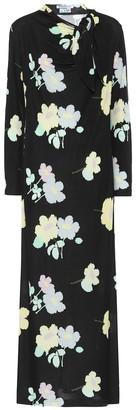 BERNADETTE Jill floral jersey midi dress