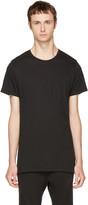 John Elliott Black Classic Crewneck T-shirt