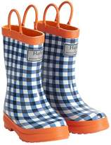 Pottery Barn Kids Hatley Navy/Orange Gingham Raincoats