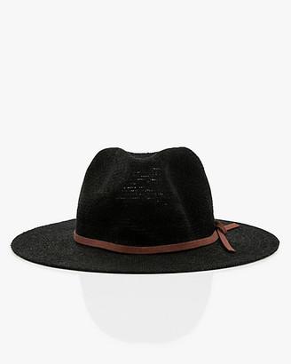 Le Château Burlap Cowboy Hat