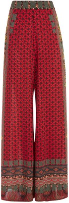 Alice + Olivia Athena Flared Wide Leg Pant