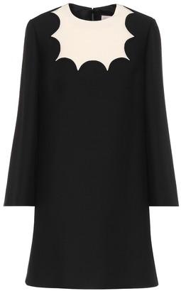 Valentino Silk-crApe minidress
