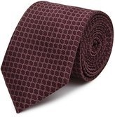 Reiss Belmont - Graphic Silk Tie in Red, Mens