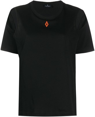 Marcelo Burlon County of Milan logo-print cut out T-shirt
