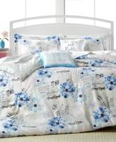 enVogue Floral Postcard Reversible Comforter Sets