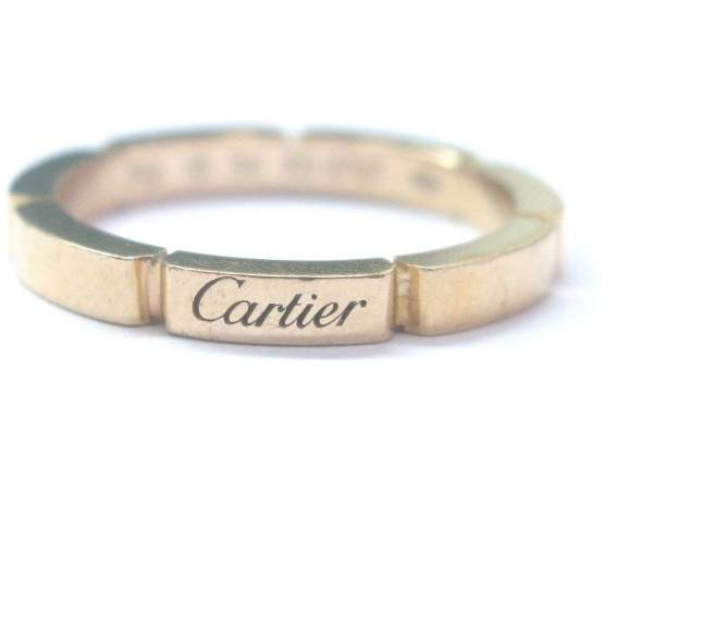 Cartier 18K Rose Gold Maillon Panthere Wedding Band Size 7