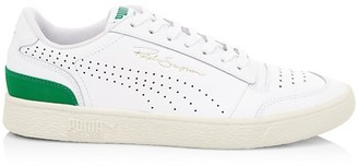 Puma Sampson Leather Low-Top Sneakers