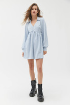 Urban Outfitters Maria Collared Babydoll Mini Dress