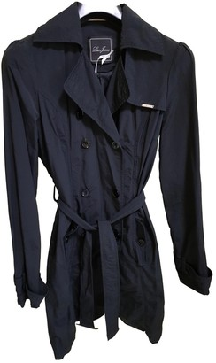 Liu Jo Liu.jo Black Wool Trench Coat for Women
