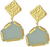 Saachi 18K Plated Glass Earrings