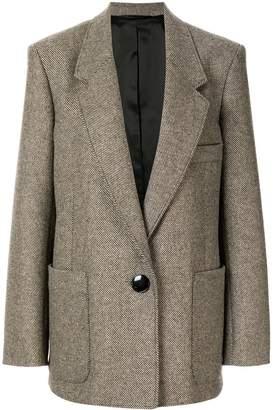 Lemaire oversized single-breasted blazer