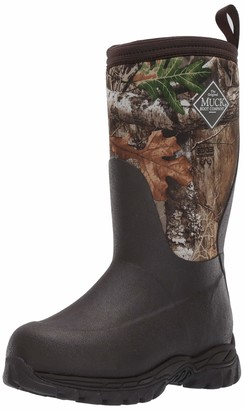 Muck Boot unisex-child Rugged II Snow Boot Brown/real Tree edge 13 M US