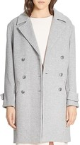 Halston Double Breasted Coat