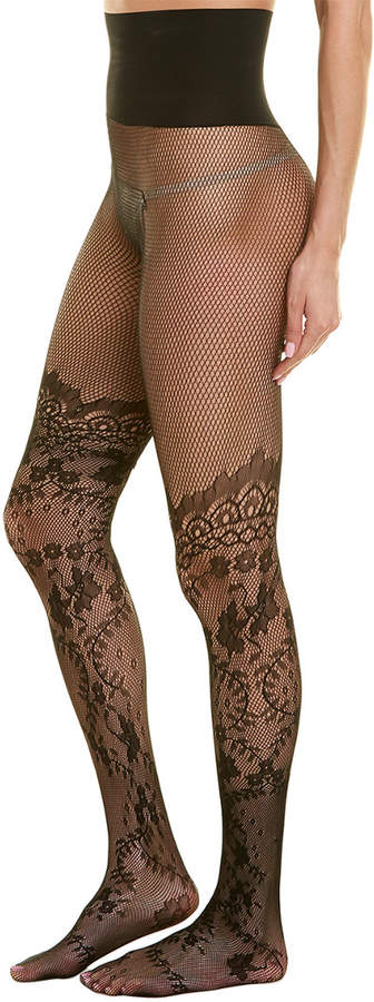 c5b2c6505da60 Black Floral Tights - ShopStyle Canada