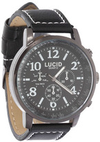 City Beach Lucid Polaris Black/White Watch