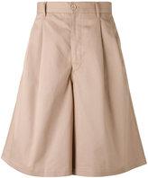 Comme des Garcons Dashield wide-legged shorts - men - Cotton - S