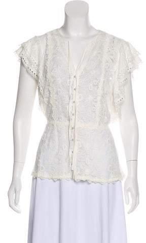 5c976088 Alexis White Lace Top - ShopStyle
