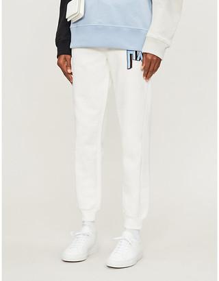 Armani Exchange Colourpop logo-print cotton-blend jogging bottoms