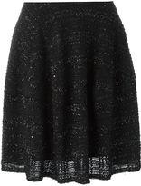 Talbot Runhof boucle skirt