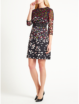 Marella Editti Floral Print Dress, Black