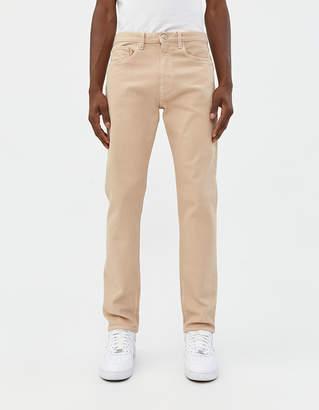BEIGE Jeanerica Tapered 5-Pocket Jean in