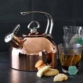 Chantal Copper Whistling Tea Kettle, Copper