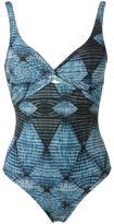 Lygia & Nanny - twist detail swimsuit - women - Polyamide/Spandex/Elastane - 44