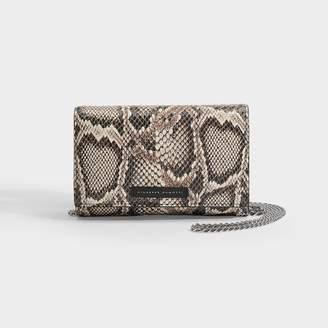 Giuseppe Zanotti Shoulder Bag In Snakeprint Leather