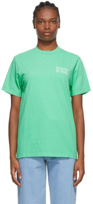 Sporty and Rich Green Fun Logo T-Shirt