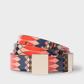 Paul Smith No.9 - Women's Multi-Coloured Patent Leather Belt