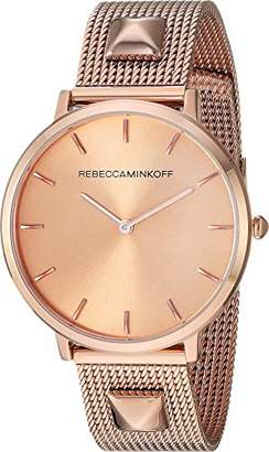 Rebecca Minkoff Women's Quartz Watch with Stainless Steel Strap