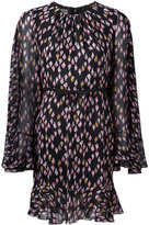 Giambattista Valli floral print sheer dress - women - Silk/Cotton/Viscose - 42