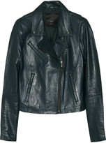 Veda Jewel leather biker jacket