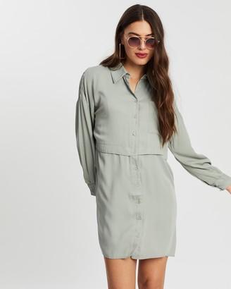 Missguided Utility Shirt Dress