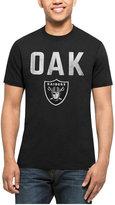 '47 Men's Oakland Raiders City Style Splitter T-Shirt