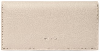 Matt & Nat Reid Slim Vegan Leather Bifold Wallet