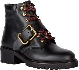 Sandro Leather Ranger Boots