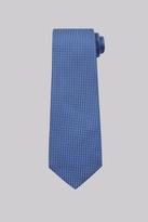 Moss Esq. Sky Textured Silk Tie