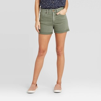 Universal Thread Women's High-Rise Short Jean Shorts - Universal ThreadTM Dusty